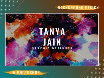 Background design in photoshop