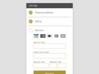 DailyUI :: 002 Credit Card Checkout
