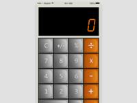 DailyUI :: 004 Calculator