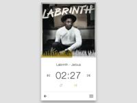 DailyUI :: 009 Music Player