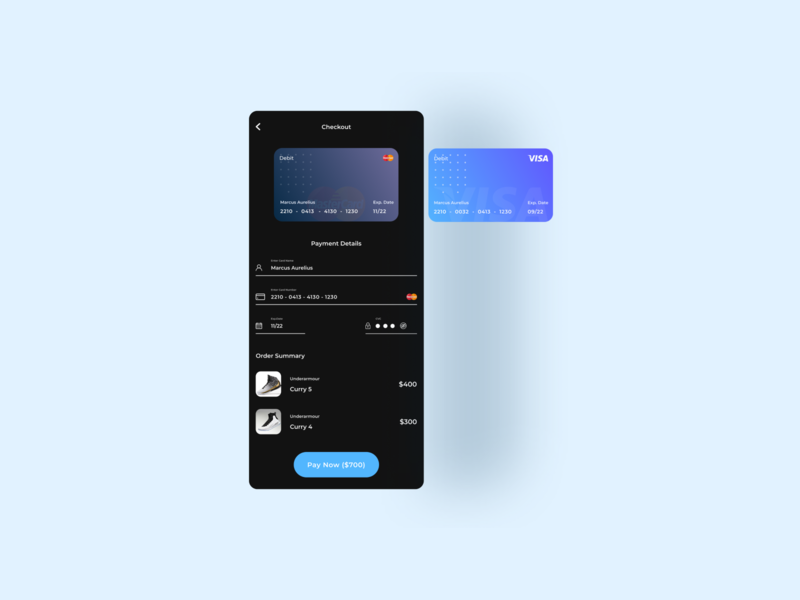 Daily UI Challenge Day 002 app design mobile ui