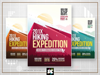 Hiking Adventure Flyer