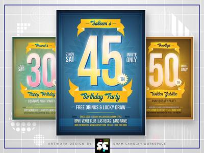 Anniversary / Birthday Flyer
