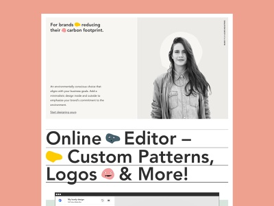 Product Page - Features packhelp features photography user interface ui design product page landing page layout typography