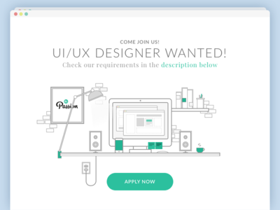 UI/UX Designer Wanted!