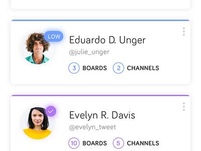 Blypr App Redesign (Part 2) ux ui stats mobile management ios illustration social feed data dashboard app