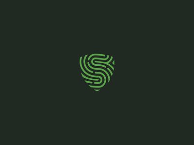 Seguraut - Visual Brand simple branding visual identity visual brand shield logo symbol minimal flat logo design