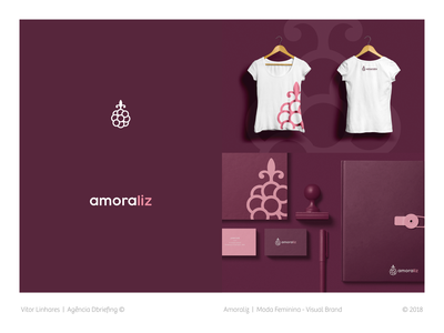 Amoraliz - Visual Brand branding fashion logo clothing store logo simple visual identity visual brand symbol minimal logo design