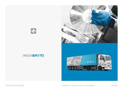 Inox Brito - Visual Brand icon simple flat branding visual identity visual brand symbol minimal logo design