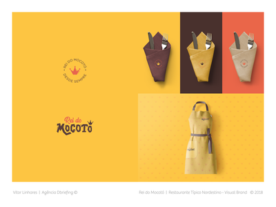 Rei do Mocotó - Visual Brand simple branding tipography restaurant logo illustration visual identity visual brand symbol logo design
