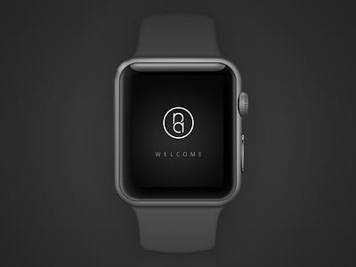 #093 | Splash Screen watch apple screen splash daily dailyui app ui challenge clean interface