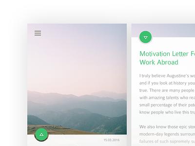 #094 | News news daily dailyui app ui challenge clean interface