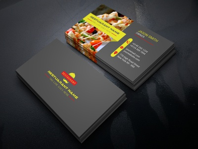 Restaurant Businees Card