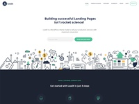 Landing Page Theme - LeadX