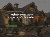 Property & Real Estate Landing Page Website