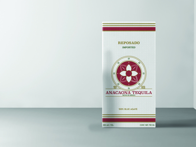 Anacaona Tequila Packaging