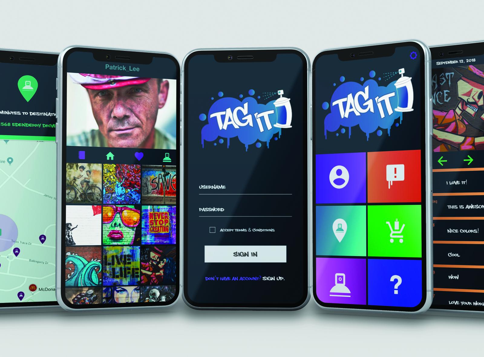 Tagit App Mockup By Cynthia Lainez On Dribbble