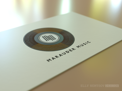 Logo Design | Marauder Music visualization 3d icon color vector typography branding design logo