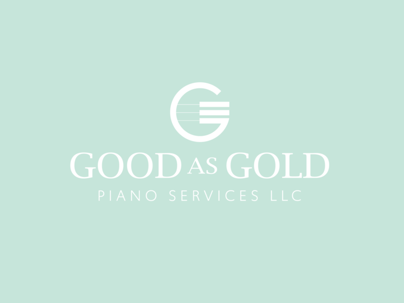 Piano Technician Logo vector typography icon branding logo ui illustration color design
