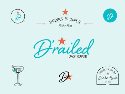 Restaurant Logo System Exploration typography restaurant identity design logo identity brand identity branding