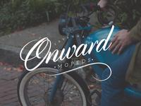 Onward Mopeds Logotype