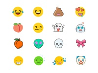 Booty Alert Emoji Set