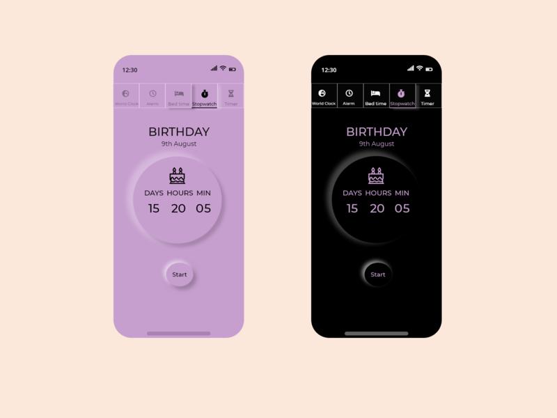 Daily UI 014 - Countdown timer countdowntimer dailyui ui design adobexd