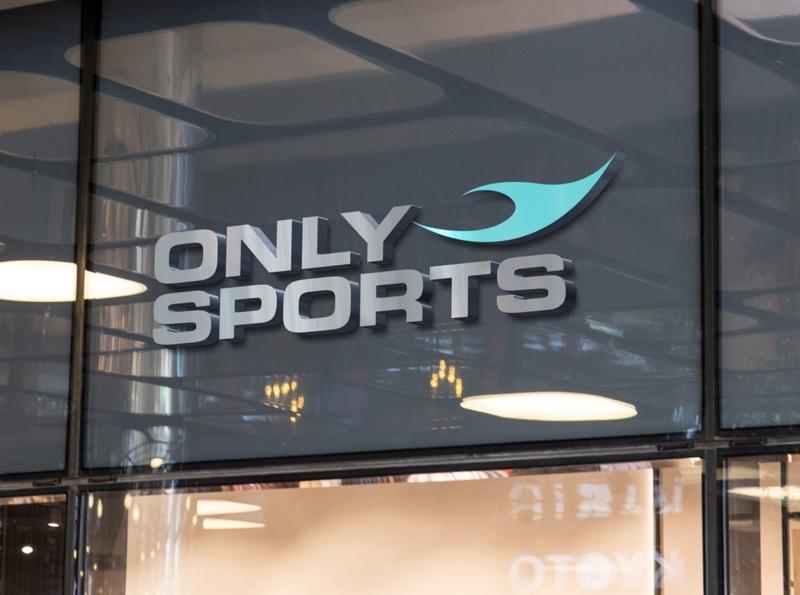 Only-Sports vector illustration dubai webdesign adobe corporate logo branding creative advertising