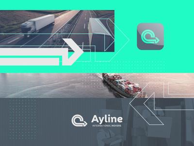 Ayline ilustrator vector corporate uae webdesign dubai creative branding advertising logo