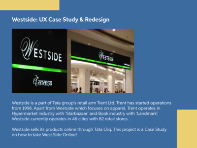 Westside: UX Case Study & Redesign