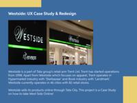 Westside: UX Case Study & Redesign