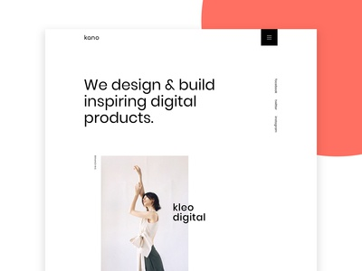Kano - Creative & Minimal Portfolio HTML Template