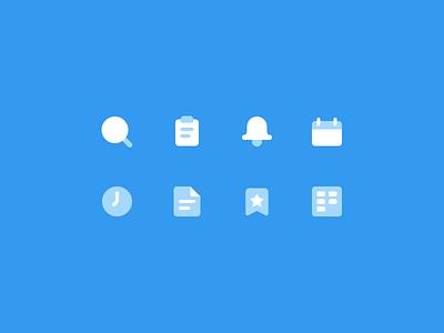 Dual Icons Set two tone icons dual icons iconset icons