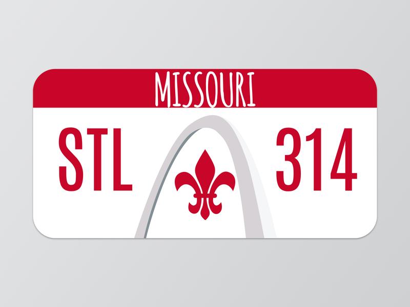 STL License Plate