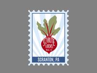 Scranton Postage Stamp