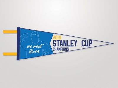 St Louis Blues Pennant