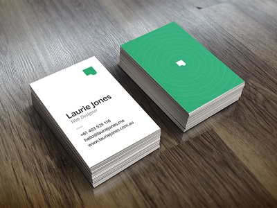 Business Cards cards laurie inverted business cards laurie jones