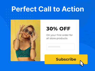 Perfect Call to Action button animation button design cta button button cta call to action conversion rate optimisation popups campaign popup animation lightbox adoric