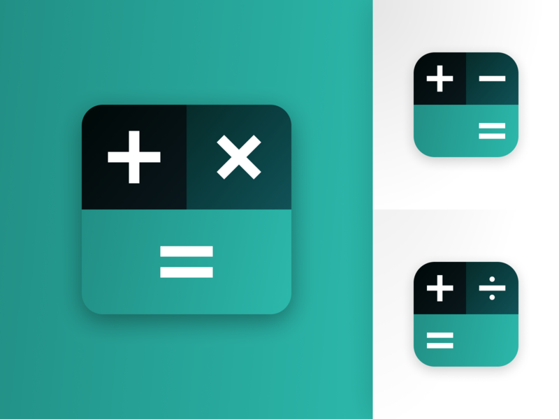 Daily UI 005 - App Icon calculator green 005 app ui designer appicon daily ui challenge app design daily ui 005 daily ui dailyui icon app vector ui design