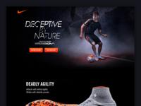 Nike - Hypervenom eCommerce