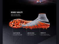 Nike Hypervenom - Webdesign 02