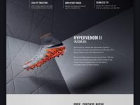 Nike Hypervenom - Web Design 03