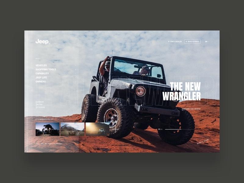 Dribbble jeep