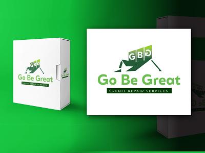 Go Be Great Credit Repair Services packaging vector design logo logo design graphic design branding