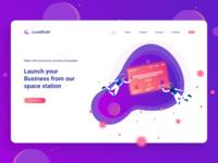 LunaBuild space home page