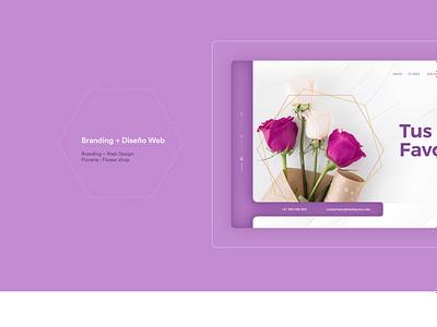 Tony Hall - Website Flowers diseñador web paginas web tonyhallstudio logo illustrator photoshop website design branding