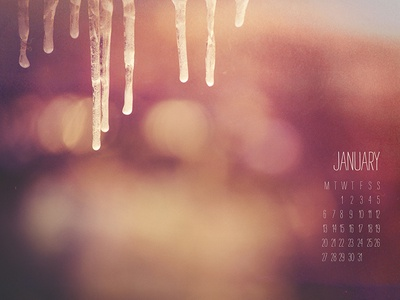 January 2014 Wallpaper