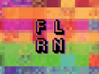 F L R N - 8BIT - Color glitches