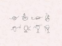 Icon Set & Pattern
