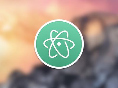 Atom Icon atom icon mac code editor github
